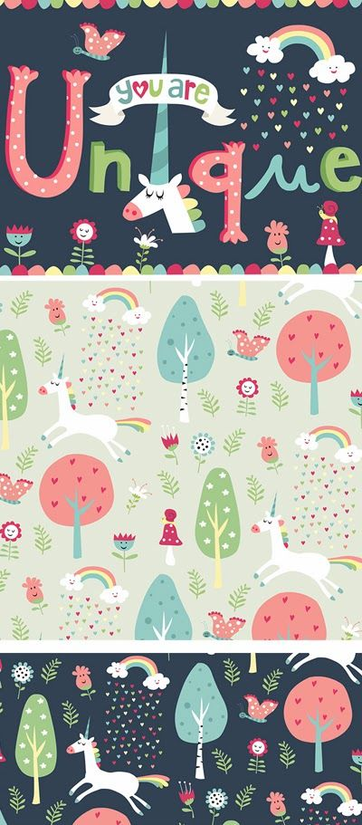 print pattern Designed by Nastja Holtfreter, illustrator and surface pattern designer from Berlin, Germany