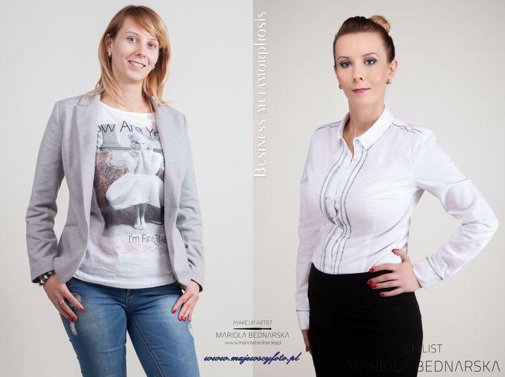 Business Metamorphosis - Ewelina  Make up&Style: Mariola Bednarska | https://www.facebook.com/mua.mariolabednarska  Photo: Marek Majewski | https://www.facebook.com/Majewscyfoto  #kielce #poland #metamorphosis #makeup #makeupartist #business