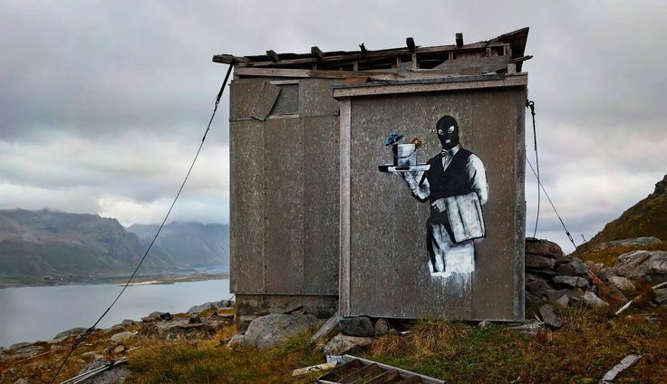 Artist: DOLK Location: Lofoten. Norway.
