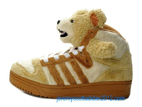 Adidas JS Panda Bear Brown Jeremy Scott Adidas Shoes 2012