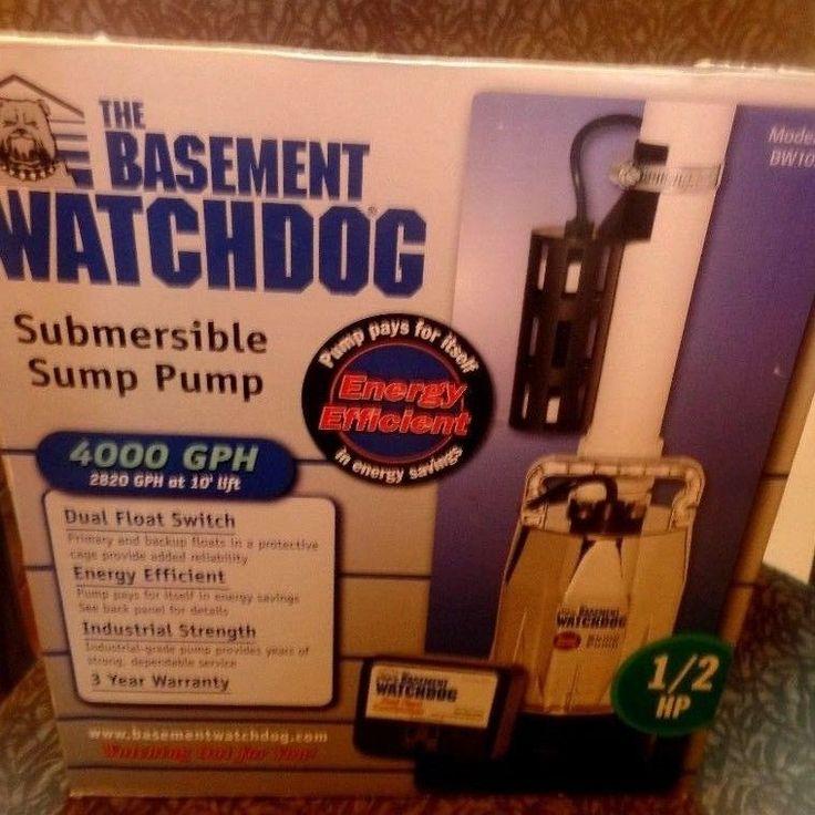 new the basement watchdog bw1050 12 hp submersible sump pump system thebasement - Watchdog Sump Pump