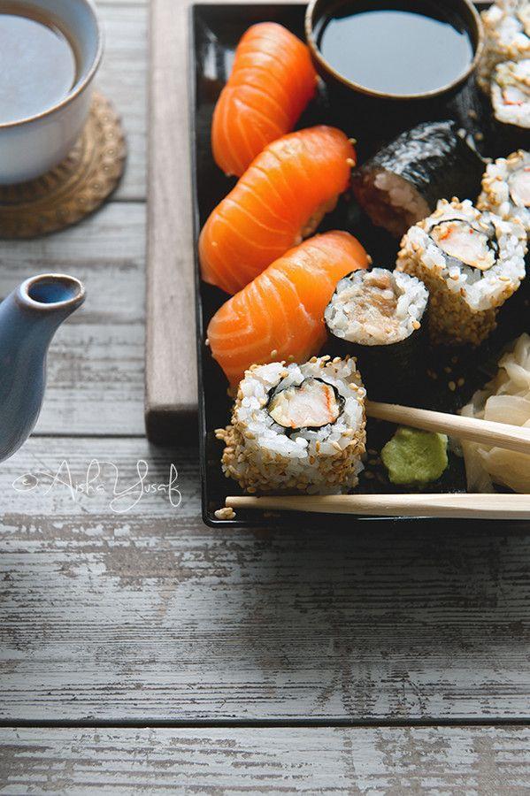 Sushi | by Aisha Yusaf on 500px