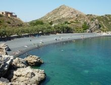 Mavra Volia Beach, near the resort Emporios http://www.discoverchios.gr/mavra-volia