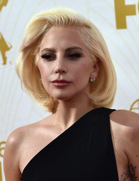 Lady Gaga B.o.B - Lady Gaga looked demure at the Emmys wearing this retro bob.