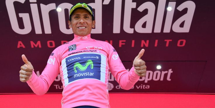 Quintana works his way into the pink jersey in the mountains (Stage 19). (Photo: PezCycling News - What's Cool In Pro Cycling)