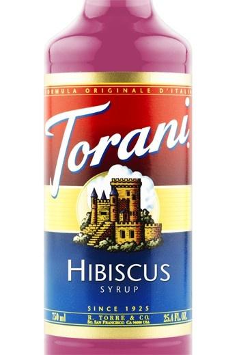Hibiscus Torani Syrup