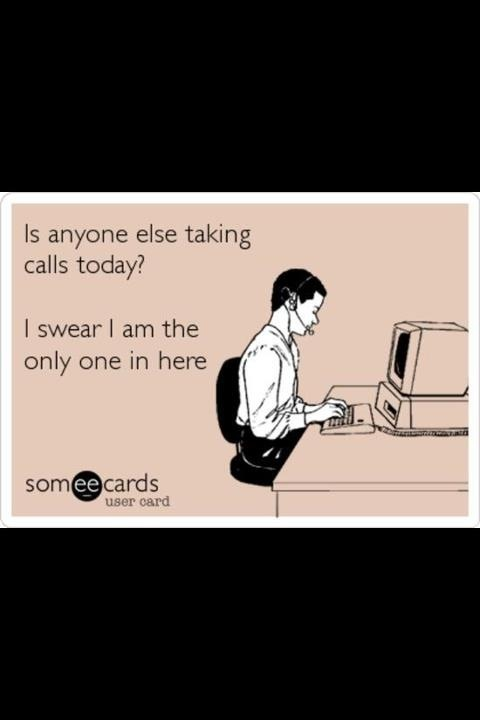 The entire day, every day, of the veterinary receptionist. Speaking from experience