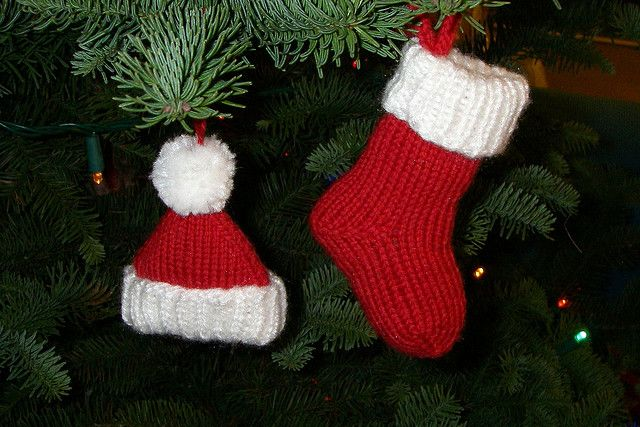 Ravelry: Santa Hat Ornament pattern by Aimee Yago