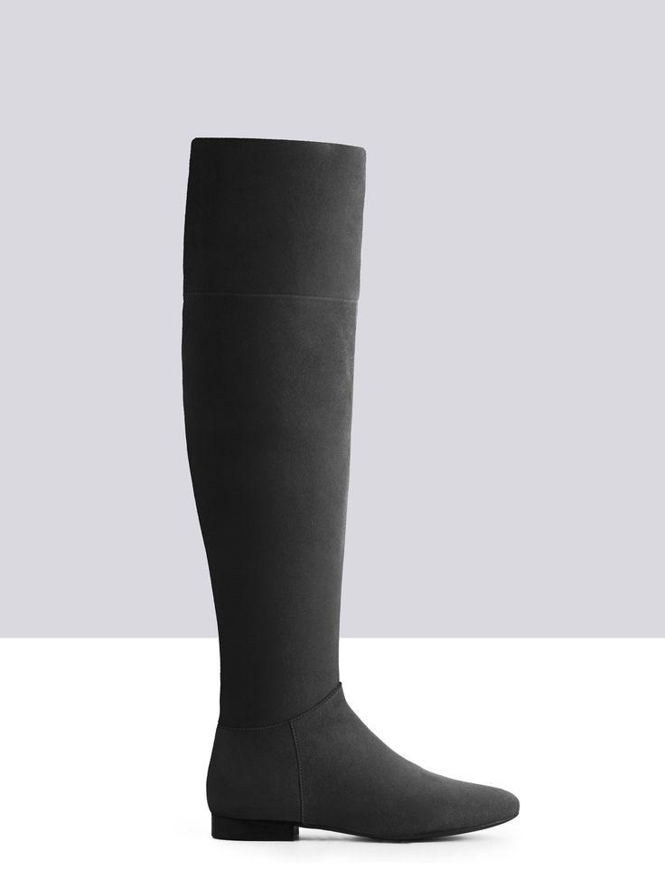 Ariadne Burgundy Wildleder ladies-boots small 1