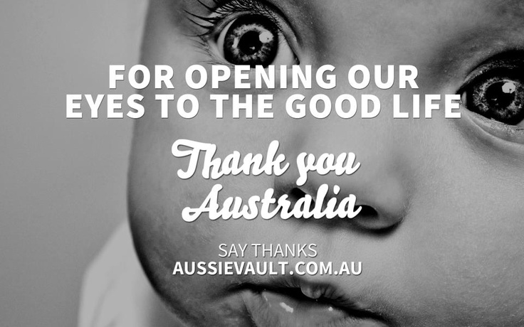 #ThankYouAustralia #AustralianDay