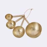 Brass Measurement Spoons at fermliving.com. How did I not know about this website before?