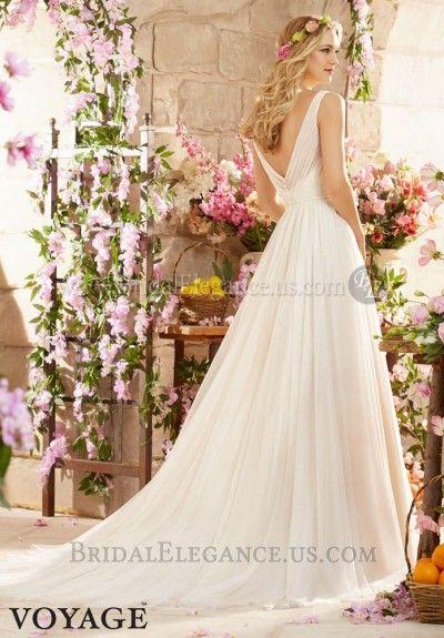 Mori Lee Tulle A-line Wedding Gown | Bridal Elegance