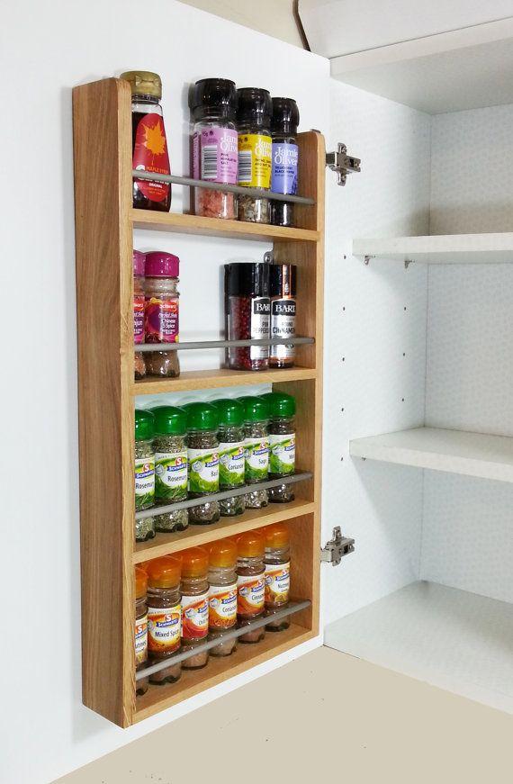 Die besten 25+ Moderne küchengewürzregale Ideen auf Pinterest - gewürzregale für küchenschränke