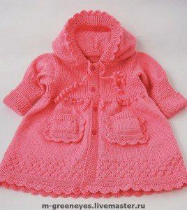 пальто для девочки спицами - Самое интересное в блогах