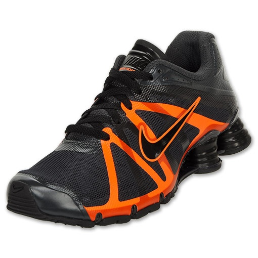Mens Shox Roadster Nike Zapatillas Nike Antracita / Negro Corriendo