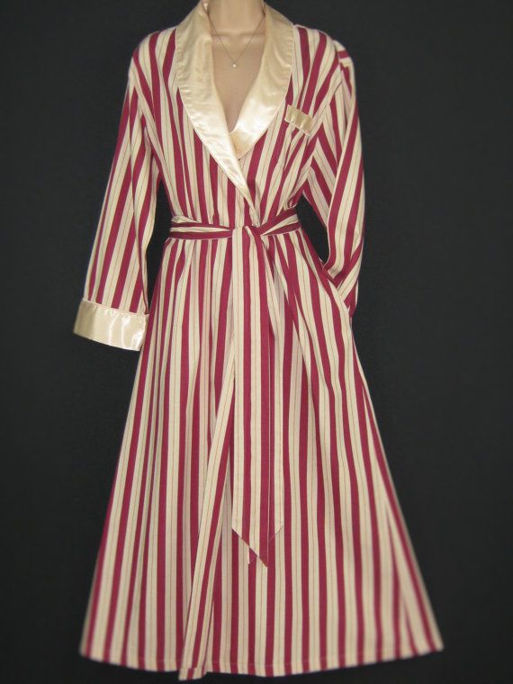L A U R A A S H L E Y  I dont like ephemeral things, I like things that last forever  A DRESSING GOWN FIT FOR A LADY  STRIPE PATTERN IN