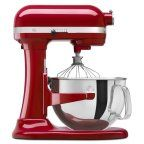 KitchenAid R-KP26M1XER PROFESSIONAL 600 STAND MIXER 6 QUART 10-SPEED Empire Red (Certified Refurbished)