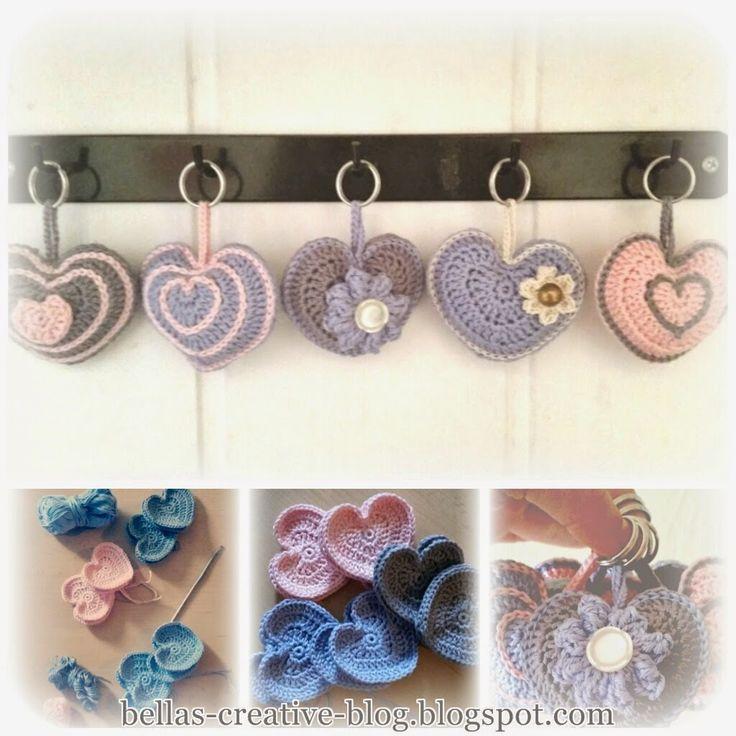 Bella´s Creative Blog - Crocheted Pendants