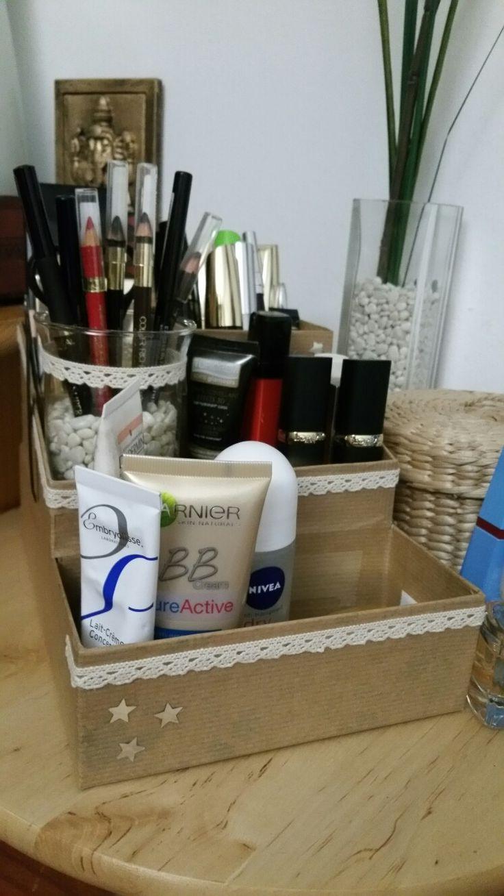 Die 25 Besten Ideen Zu Boite De Rangement Maquillage Auf Pinterest Hocke Herausforderung F R