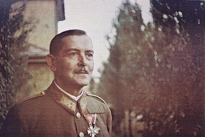 Jány Gusztáv vezérezredes.
