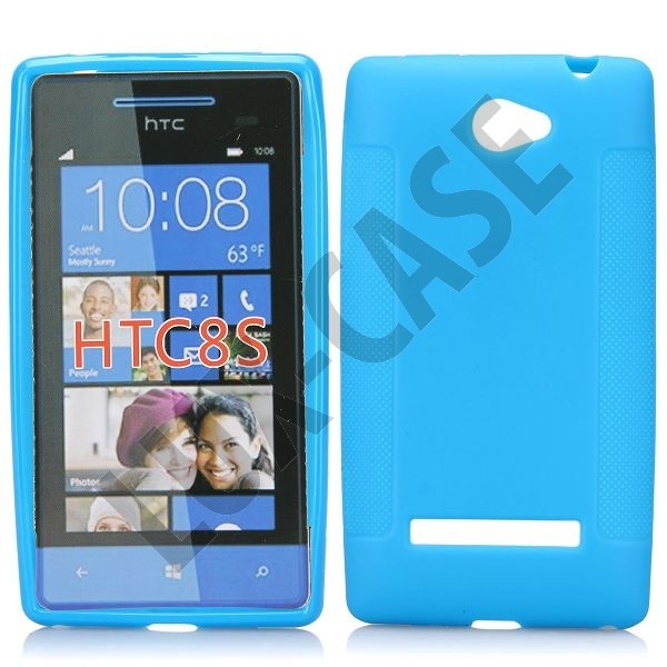 Soft Shell (Lys Blå) HTC Windows Phone 8S Deksel
