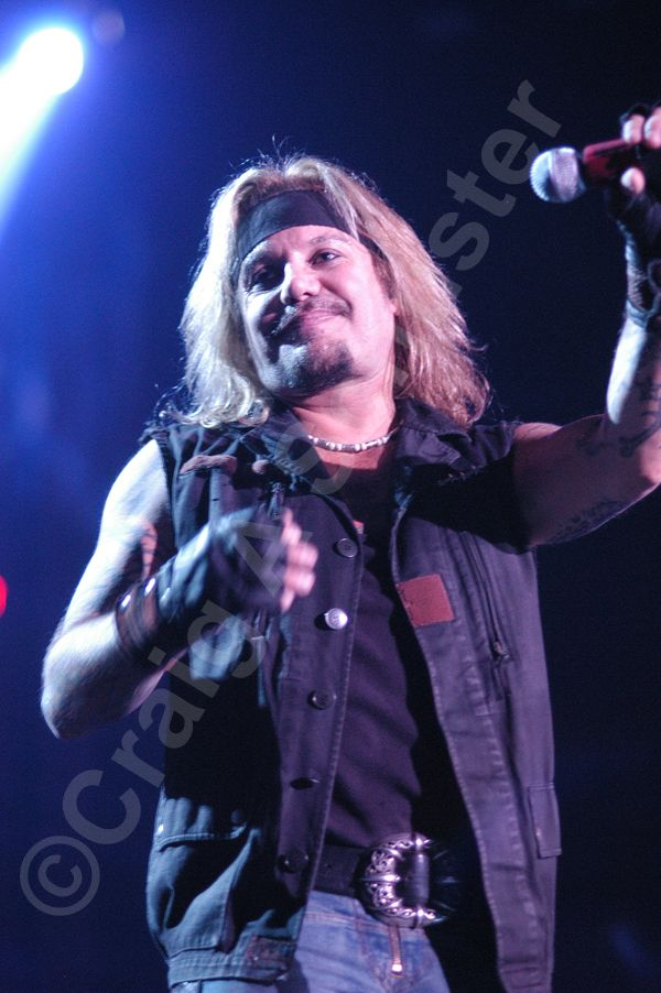 A Vince Neil Photo I took in Madison WI on the Motley Crue COS Tour 2006.  #VinceNeil #MotleyCrue #NoFilterNeeded