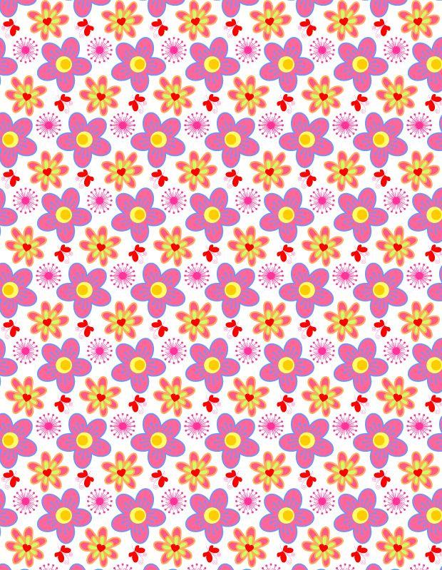 Vibrant summer petal and butterflies pattern http://creativenerds.co.uk/freebies/vibrant-summer-petal-and-butterflies-pattern/?utm_campaign=coscheduleutm_source=pinterestutm_medium=Creative%20Nerds%20(Blog%20Posts)utm_content=Vibrant%20summer%20petal%20and%20butterflies%20pattern
