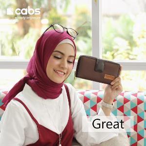 Tas / Dompet Wanita Cabs Pocket Great Multifungsi