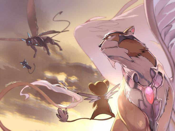 Cardcaptor Sakura - Keroberos & Spinel Sun by Evolution on pixiv
