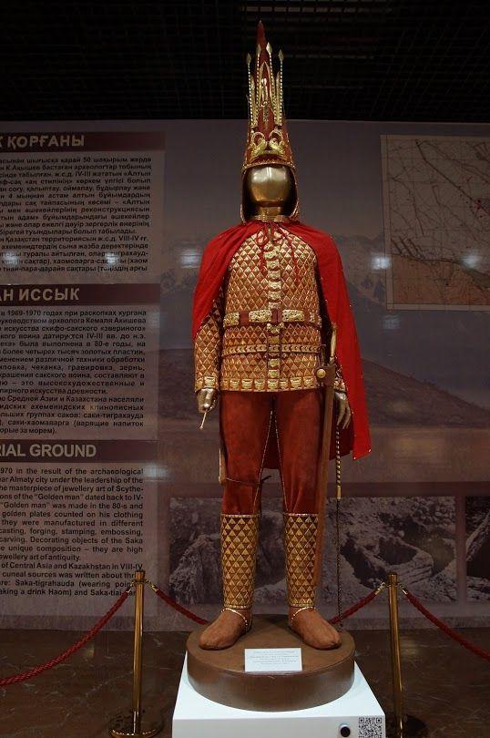 The Golden Man of Issyk Kurgan