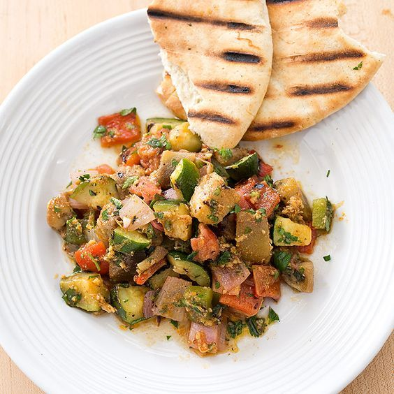 Tunisian-Style Grilled Vegetables (Mechouia) Recipe
