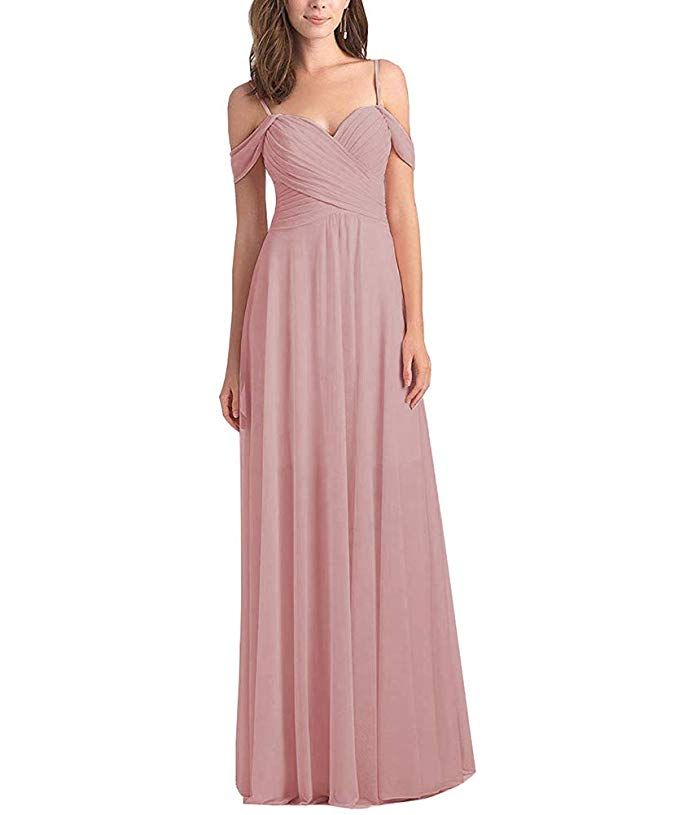 916be0433aa5f Women's Off The Shoulder A Line Chiffon Bridesmaid Dress |brides wedding  dress |bridesmaids dresses with pockets |bridesmaid dresses short | bridesmaid ...