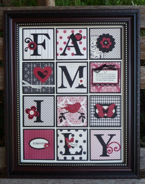 FAMILY: Cards Ideas, Families Frames, Gifts Ideas, Cute Ideas, Stampin Up, Stampin Ideas, Crafts Night, Families Member, Christmas Gifts