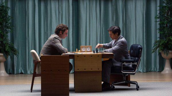 Starring an Eames Executive Chair!  Review: 'Pawn Sacrifice,' Another Take on the Royal Game - The New York Times
