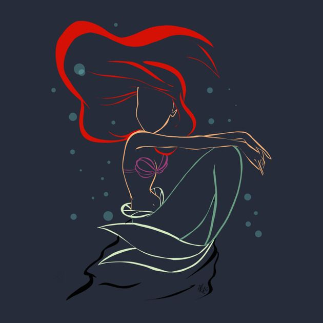Shop The Little Mermaid T Shirts Designed By Marion As Well Other Merchandise At TeePublic