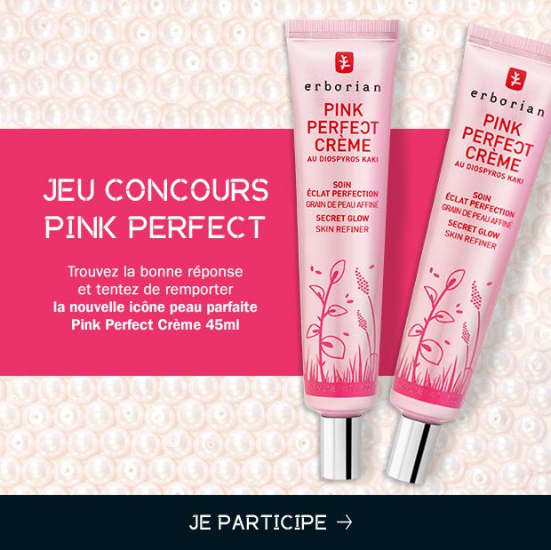 30 pink perfect crèmes Erborian à gagner:  http://www.addictsauxconcours.com/t6343-17-12-erborian-30-pink-perfect-cremes-a-gagner-dlp-05-01-2015  #concours