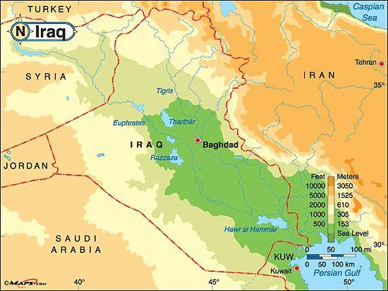 Die Besten Iraq Map Ideen Auf Pinterest Mesopotamien - Map of iraq