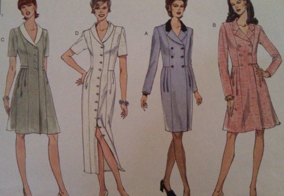 Vogue basic design sewing pattern size