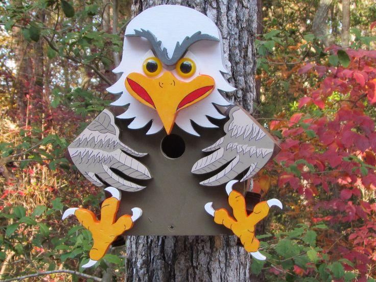 Alan Eagle Birdhouse