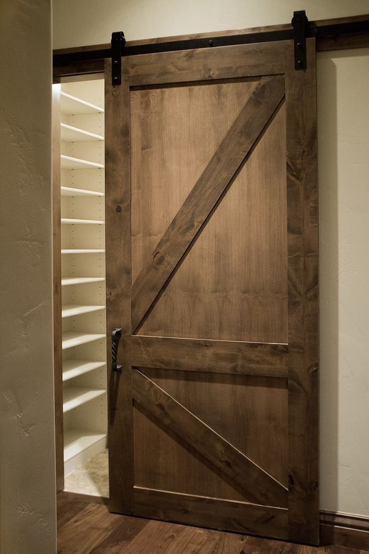 sliding barn pantry door
