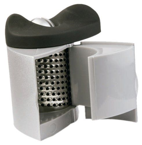 Orka Garlic Peeler and Grater by ORKA. $8.95. Easily peels and grates garlic with a single turn. Retains more flavor than a traditional garlic press. Compact design keeps fingers clean, pulp contained. Ideal for grating ginger. GARLIC PEELER & GRATER