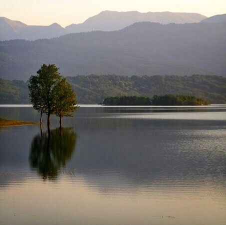 Plastira lake, Greece