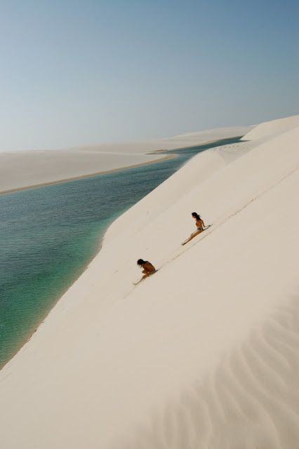 Jericoacoara (Ceará), Brazil – 2-hour dune buggy ride just to enter this paradise city
