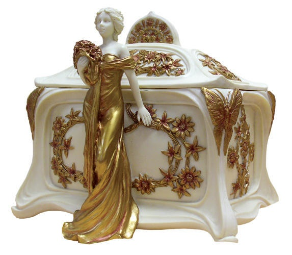 206 best Trinket Boxes images on Pinterest Trinket boxes
