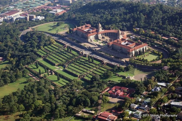 Union Buildings. Pretoria which are truly spectacular.