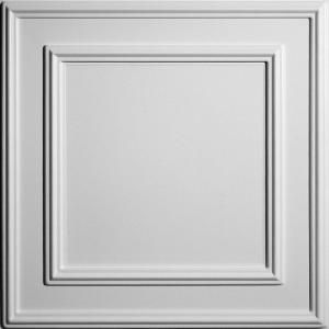 Ceilume, Cambridge White 2 ft. x 2 ft. Lay-in or Glue-up Ceiling Panel (Case of 6), V3-CAMB-22WTO at The Home Depot - Mobile