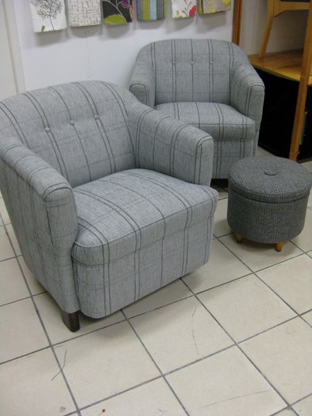 Stripe armchairs www.verhoomopalttina.com