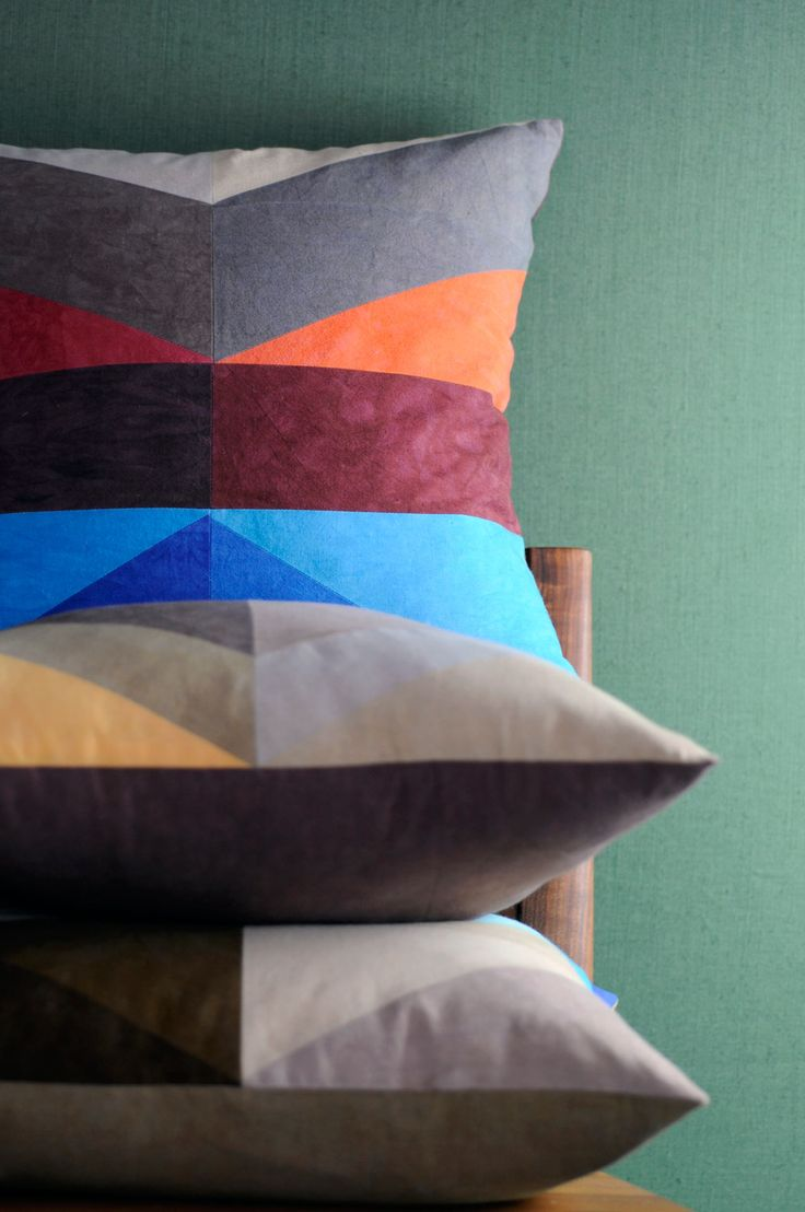 best textiles images on pinterest  cushions textile design  - studio dunn releases new geometric pillows inspired by new england