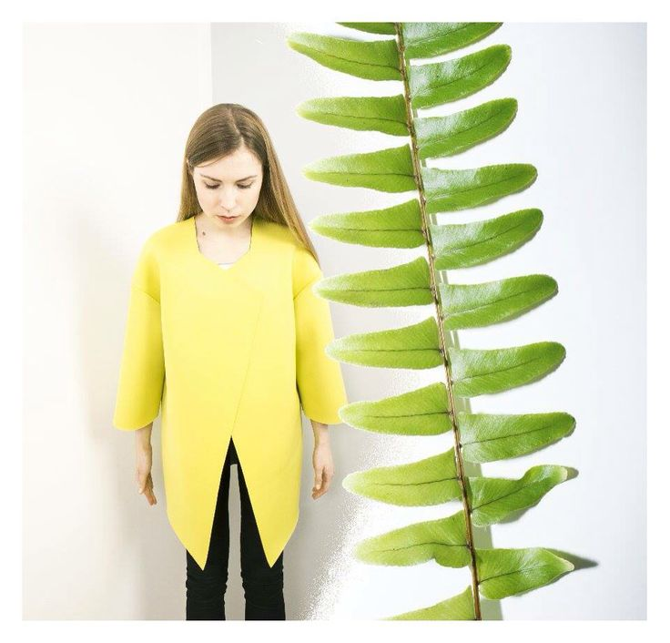 Lakola coat yellow spring