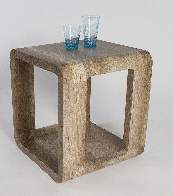 Konferenční stolek ALINA - 2, 515.3 - divoký dub lanýž (imitace)